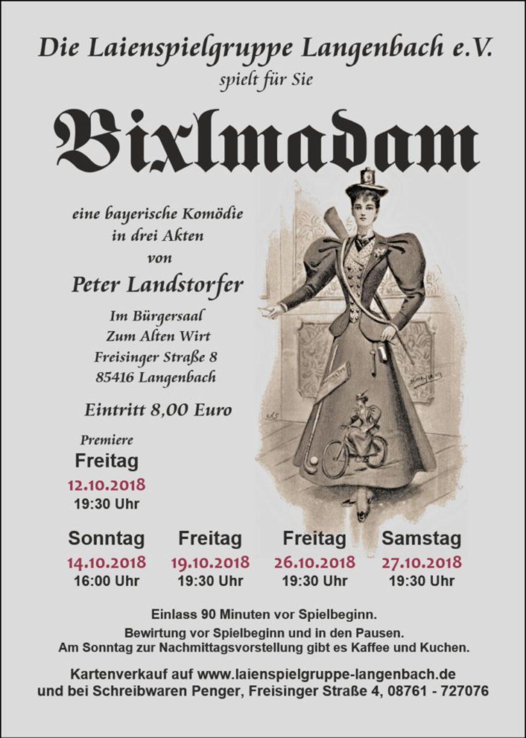 2018-08-07 Bixlmadam Flyer